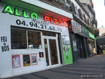 pizza claret